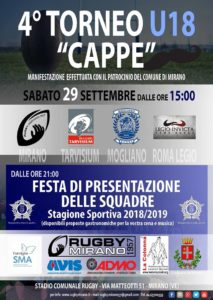 "IV° Torneo Under 18 ""Cappe"""
