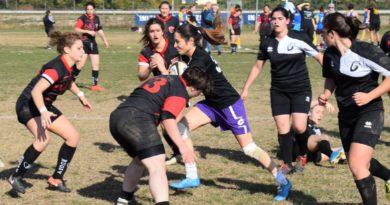 Un'azione di gioco delle Seniores Femminile nella giornata di Coppa Italia del 01.11.2017