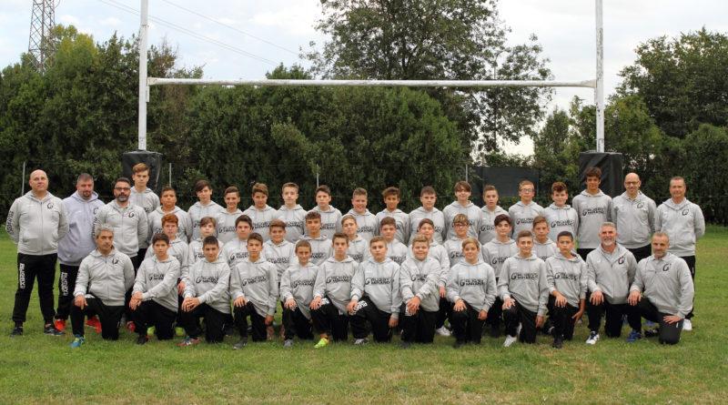 L'Under 14 di Rugby Mirano 1957 ASD per la stagione sportiva 2017/2018