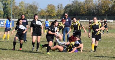 La squadra Seniores Femminile in azione il 1.11.2017 a Villorba.