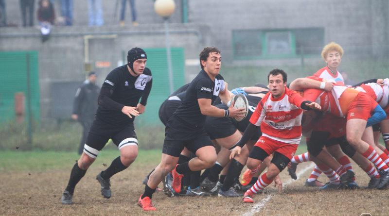 Un'azione di gioco dell'Under 18 nell'incontro Mirano vs Vicenza di domenica 12 novembre. Foto Mirna Cestaro.