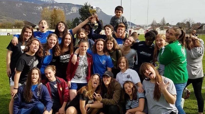"""La Selezione Veneta Femminile Under 15 vincitrice del """"Tournoi Mont e Vallees"""" che si è svolto a Voiron (Francia)"""