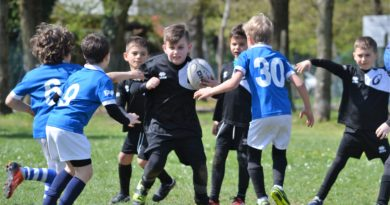 L'Under 8 all'ultimo Raggruppamento di Stanghella. Foto Rorato