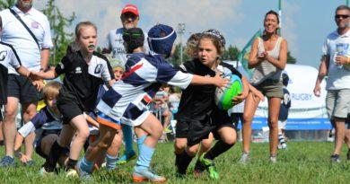 La nostra Under 8 in azione all'ultima edizione del Torneo di Treviso, foto Rorato.