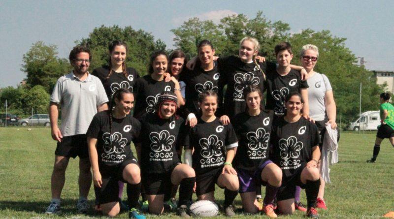 Il settore femminile di Rugby Mirano al gran completo