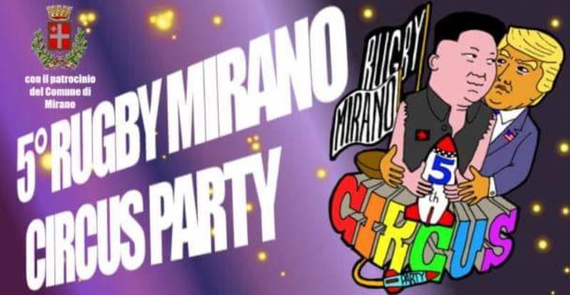 la locandina del 5° Circus Party