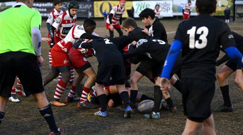 un'immagine dal match Mirano - Amatori Vicenza di sabato. Foto: Alberto Minto