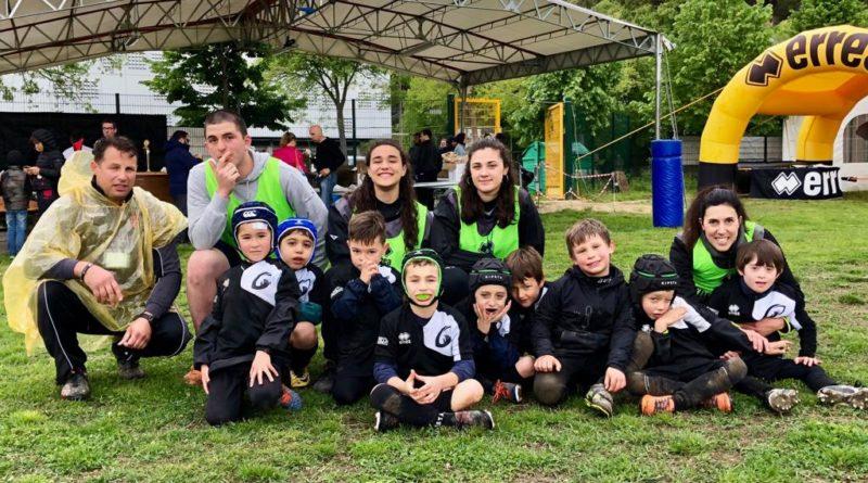 """l'Under 6 del Mirano Rugby, partecipante al secondo torneo Old Wild West """"Città di Mirano"""""""